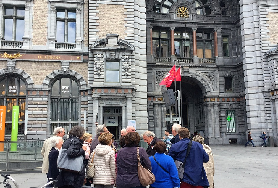 VISITE D'ANVERS: QUARTIER DIAMANTAIRE + LUNCH + VISITE GARE CENTRALE